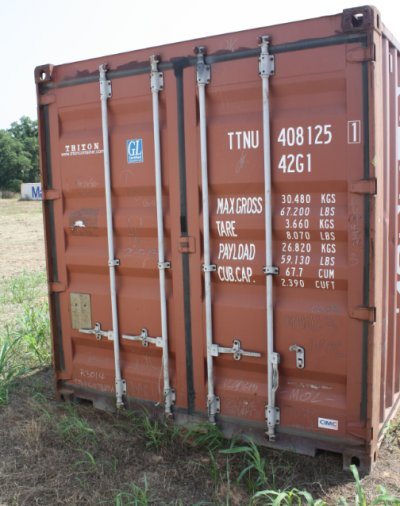Containers - 40' STORAGE CONTAINER
